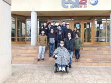 Foto visita universidad facultad de informática